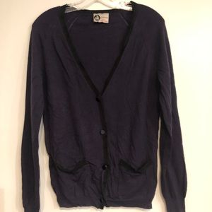Vintage Lanvin Cardigan (tag M, but more like S)